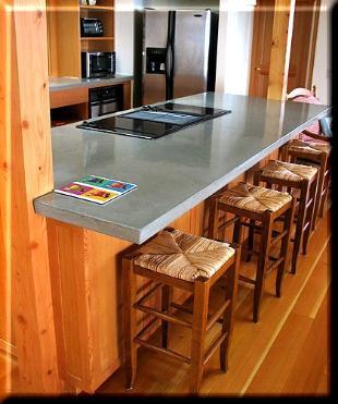 Concrete fx polished concrete countertops for Polished concrete kitchen countertops