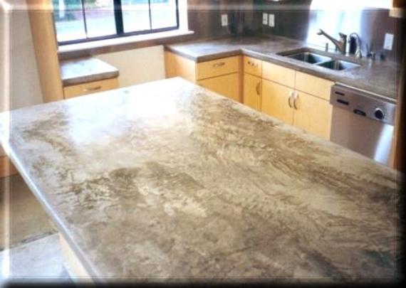 Concrete Fx Polished Countertops